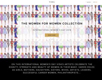 International Women's Day on Shop Vida