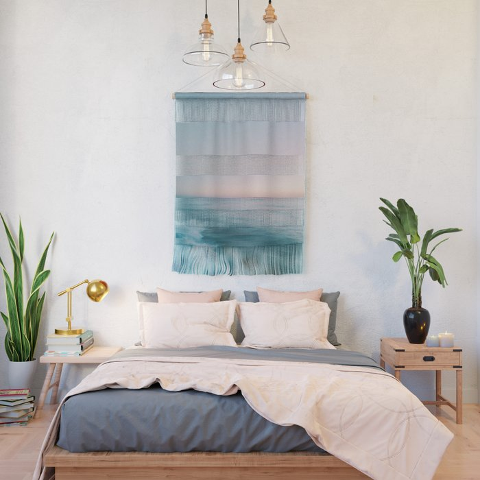Calm Pastel Sea Wall Tapestry by Mint and Merit