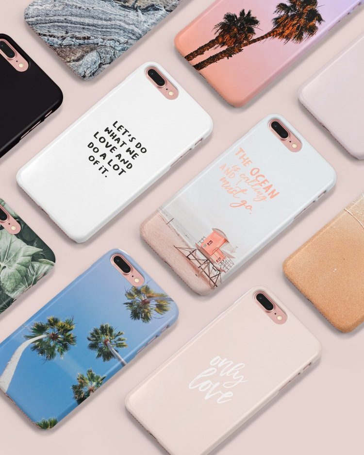 Mint and Merit iPhone Cases Sold on Society6.